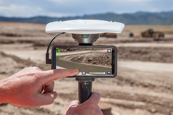 Trimble has introduced a new augmented reality (AR) solution that enables users to visualise 2D and 3D data on almost any project site with an internet or cellular connection.