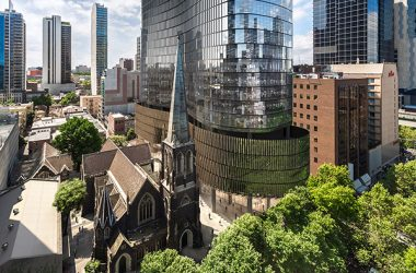 Lendlease and the Charter Hall Group have celebrated a major construction milestone, as work on the Melbourne commercial building 130 Lonsdale Street tops out at 35 storeys.