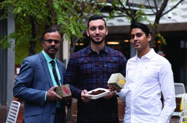 Coffee could soon be used to create concrete bricks, used in driveways, homes and offices, thanks to a new project from RMIT University.