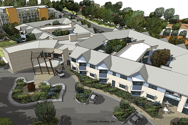 The contract to build a $37.5 million aged care facility in Dunsborough, Western Australia, has been awarded, with construction expected to start within the next few weeks.