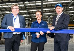 CSR Hebel has launched its $75 million autoclaved aerated concrete (AAC) manufacturing facility which will allow the company to double its current capacity.