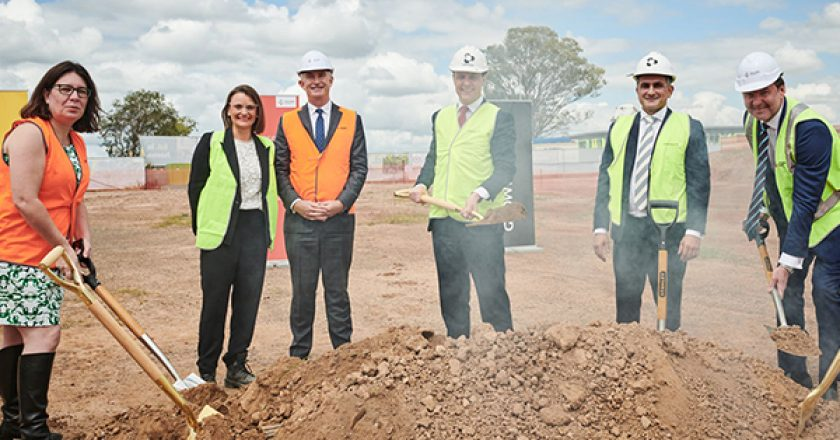 A local construction firm has been selected by Frasers Property Australia to build 184 townhouses, creating around 200 construction jobs.