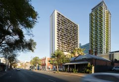 A contractor has been selected to build an $85 million apartment development in the Adelaide CBD, creating around 150 new construction jobs.