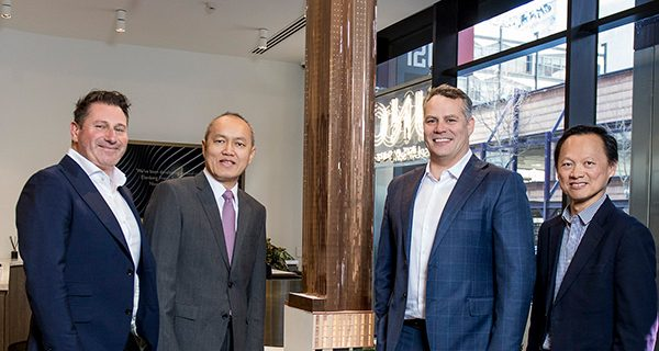 Malaysian property developer SP Setia has appointed a builder for its new 65-storey residential tower in Melbourne's CBD.