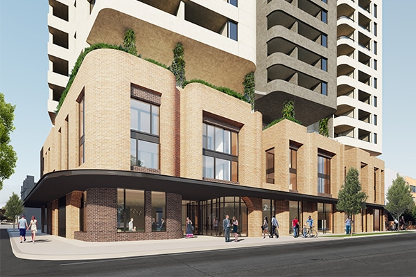 A builder has been selected to construct a 160-apartment development for one of Australia's largest community housing organisations, St George Community Housing (SGCH).
