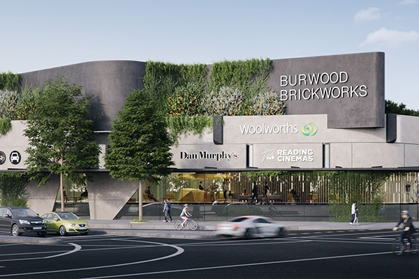 One of the world's most sustainable shopping centres is being built in Melbourne, powered with renewable energy and with a 2000 square metre rooftop urban farm.