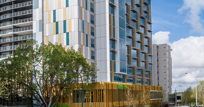 A $40 million hotel in Perth has used prefabricated modules become the city's tallest modular building, attracting interest from builders around the world.