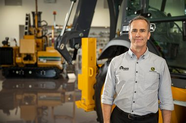RDO Equipment's Mark Kuhn explains the company's Australian relaunch of John Deere machinery, with new excavators and dump trucks rolling out across the country over the next year.