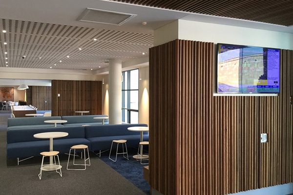 Refurbishment works are now complete at the Bond University Business School, Gold Coast, Queensland.