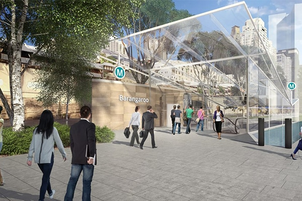 Sydney Metro has shortlisted three applicants to move to the Request for Tender stage to build the Barangaroo Station, following an expressions of interest process.
