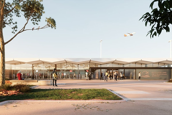 The Builder of Choice has been selected to redevelop the Port Hedland International Airport terminal building, Western Australia.