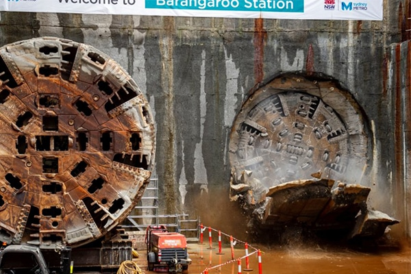 Tunnelling under Sydney's city centre has now entirely ceased as the Sydney Metro project reaches another milestone.