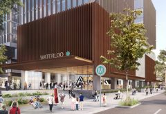 The New South Wales Government has awarded a $299 million contract to build the Waterloo Station, as part of the Sydney Metro project.