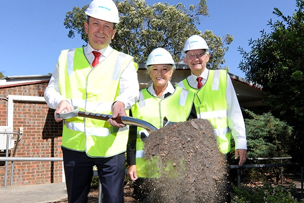 Sod has been turned on a new $6.6 million community centre in Kalamunda, Western Australia as construction company Pindan begins works.
