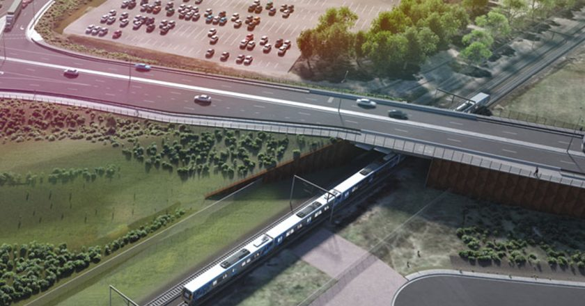 A Fulton Hogan and Metro Trains Melbourne Joint Venture has won the $98 million South Gippsland Highway, Dandenong South level crossing removal contract.