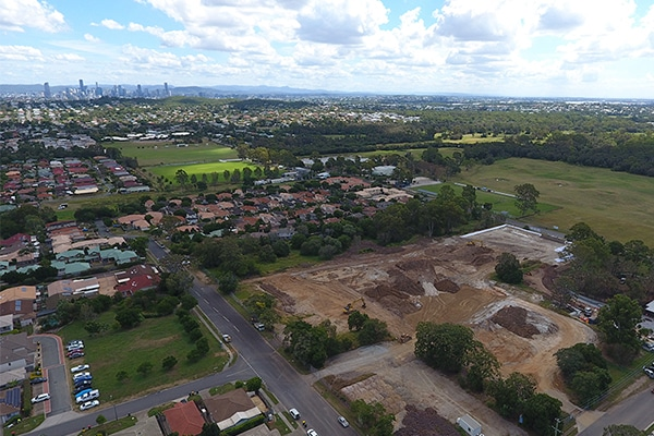 Gold Coast-based building company Condev Construction have begun works on Frasers Property Australia's $121 million masterplanned community in Brisbane's east.