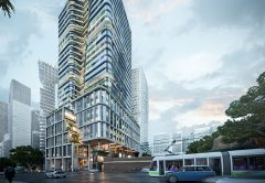 Mirvac Group has lodged a planning application to build a 31-storey office tower at 383 La Trobe Street, Melbourne.