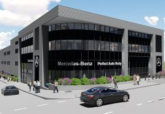 The builder of choice has been selected to deliver Perfect Auto Body's $25 million Mercedes-Benz facility in Sydney.