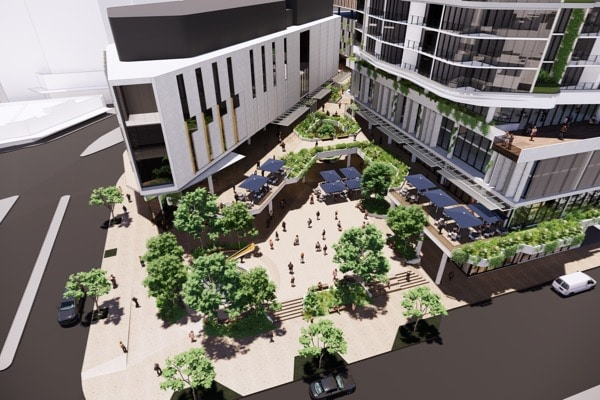 A development application (DA) has been lodged with Brisbane City Council to construct a proposed $450 million Toowong Town Centre.
