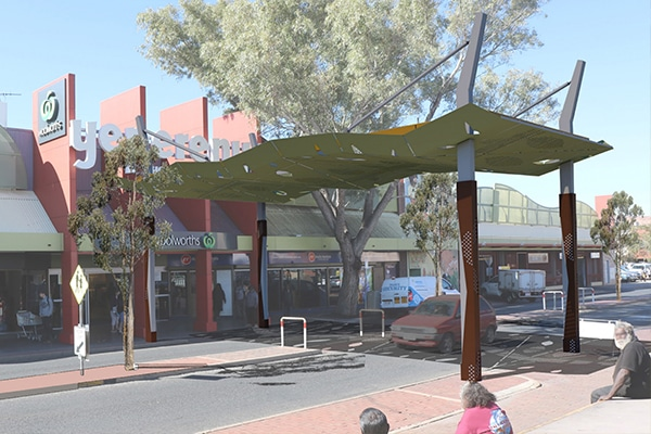 Project design concepts for the Alice Springs CBD Revitalisation project have been released to ensure the town is ready to welcome visitors post COVID-19.