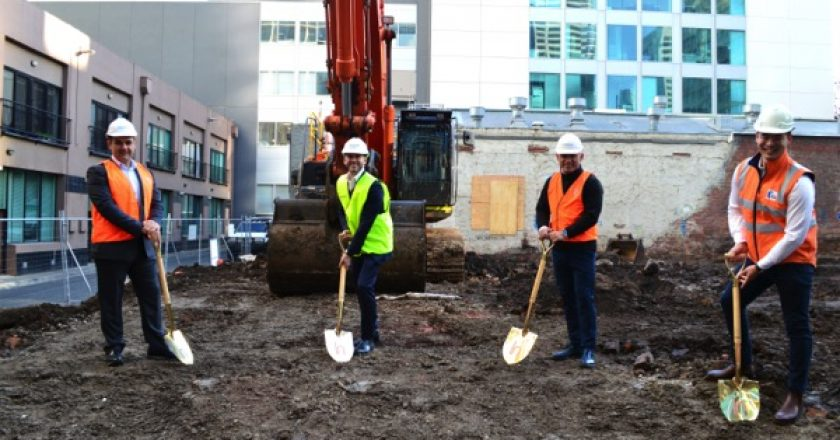 Construction on the $440 million Aspire Melbourne 'super tower' is now underway, expected to create 1000 jobs over a three-year period.