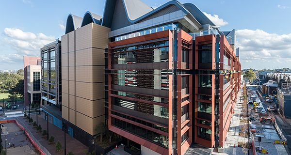Mirvac has reached practical completion on one of the country's first 'groundscrapers' called The Foundry, which features 51,000 square metres of space across six levels.