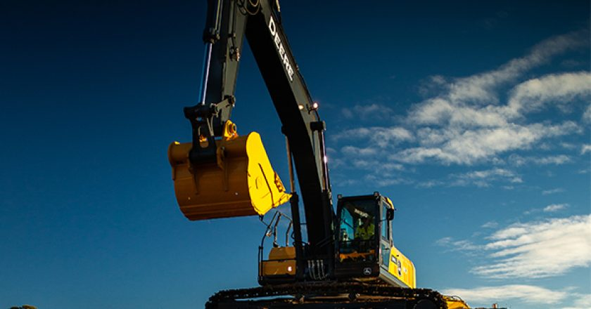 John Deere has designed, built, and backed a number of excavators for Australian construction work.