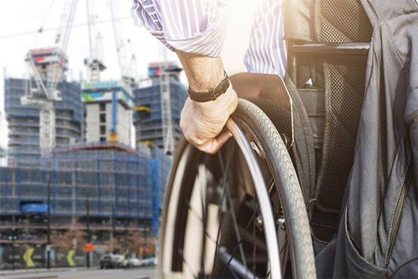 For an industry that is heavily reliant on climbing up ladders, work in confined spaces and from heights, it would seem an inaccessible for someone in a wheelchair. Jonathan Fritsch, an Online Course Facilitator of Construction Management at UniSA Online, University of South Australia, says this isn't always the case.