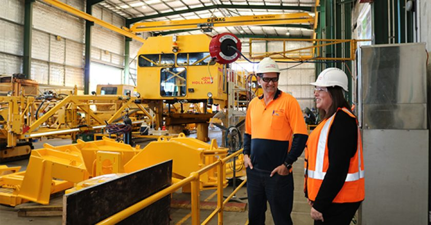 John Holland has mobilised an advanced specialist railway fleet to carry out maintenance and service support across Western Australia.