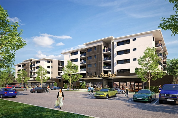 Property group Pindan has appointed a Sunshine Coast-based construction company to build an apartment project in Maroochydore, Queensland.