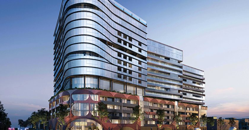 Property Group Caydon has selected a builder for its $300 million high-end apartment project in Alphington, Melbourne.