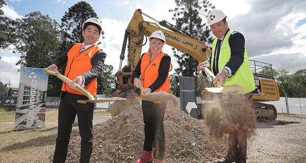 Construction is now underway in the $1 billion The Orchards masterplanned community in Sydney's Norwest.