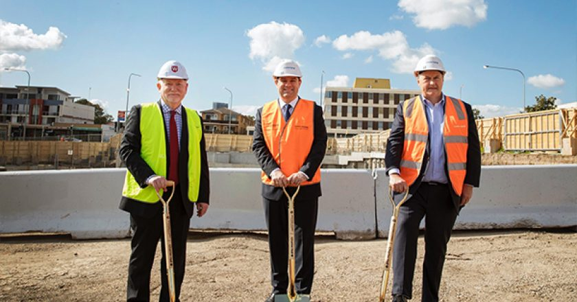 Richard Crookes Constructions has commenced construction on the $350 million joint venture project, Innovation Quarter (IQ) in Westmead.