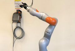A Univeristy of NSW student has designed one of the first soft robotic hands that can pick up, put down, paint and hammer with ease.