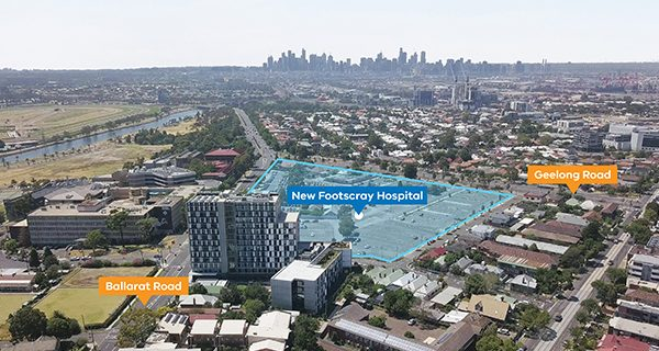 A preferred bidder has been named to deliver the new Footscray Hospital, Victoria's largest ever health infrastructure investment.