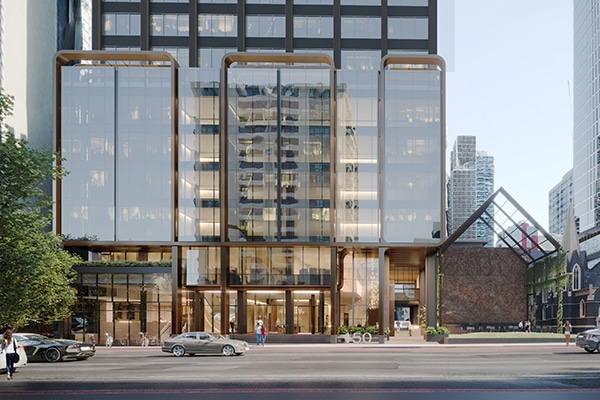 Construction works have commenced on 150 Lonsdale Street in Melbourne, as part of Charter Hall's $1.5 billion Wesley Place Precinct project.