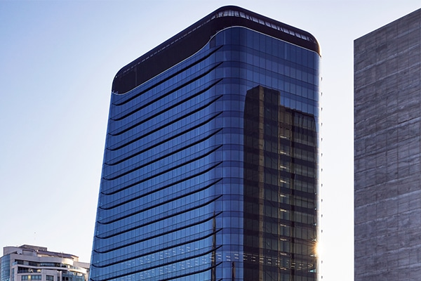 Multiplex has completed construction on a $1.2 billion commercial office tower in North Sydney, which has begun welcoming its first tenants.