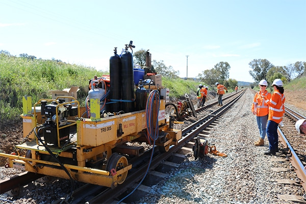 John Holland has upgraded one of Western Australia's most critical pieces of infrastructure, the Eastern Goldfields Railway, the main interstate rail line between WA and the eastern states.