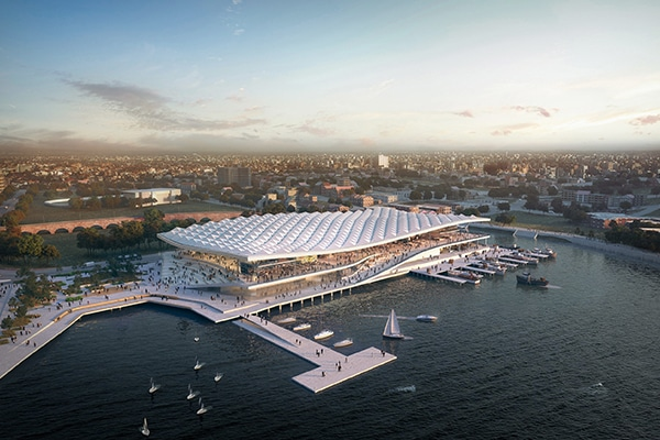 The New South Wales Government has appointed Multiplex to deliver the Sydney Fish Market redevelopment in Blackwattle Bay.