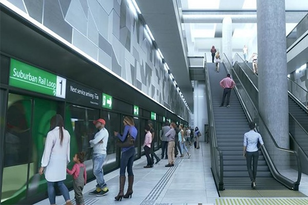 Construction on the first phase of the Suburban Rail Loop's Stage One has been $2.2 billion in the 2020-2021 Victorian Budget.