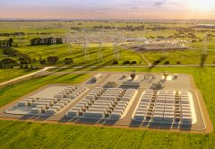 Geelong is set to be the site of the Victorian Big Battery, one of the world's largest lithium-ion batteries, as part of the Victorian Government's plan to transition to renewable energy and create construction jobs.