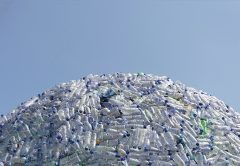 Packaging company Visy has signed a multi-year partnership to recycle plastic bottles for Australia's infrastructure instead of landfill.