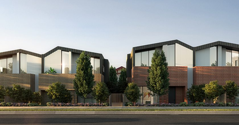 Construction has commenced on luxury property developer Chiodo's $17.5 million townhouse development project in Ashburton, Melbourne.
