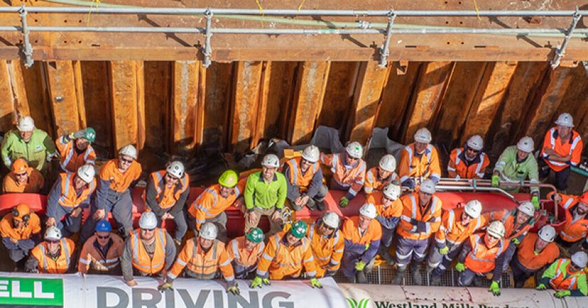 McConnell Dowell's micro tunnel boring machine has completed tunnelling on the West Coast of New Zealand's South Island for the Westland Milk outfall project.
