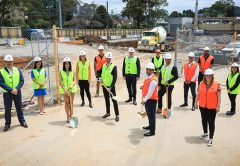 Construction is now underway on the $145 million Seymours Residences mixed-use project, which will see 112 apartments built in Sydney's North Shore.