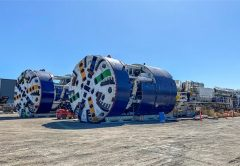 More than 100 local companies are helping to prepare the tunnel boring machines (TBMs) for the Cross River Rail project in Queensland, with tunnelling under Woolloongabba to start early next year.