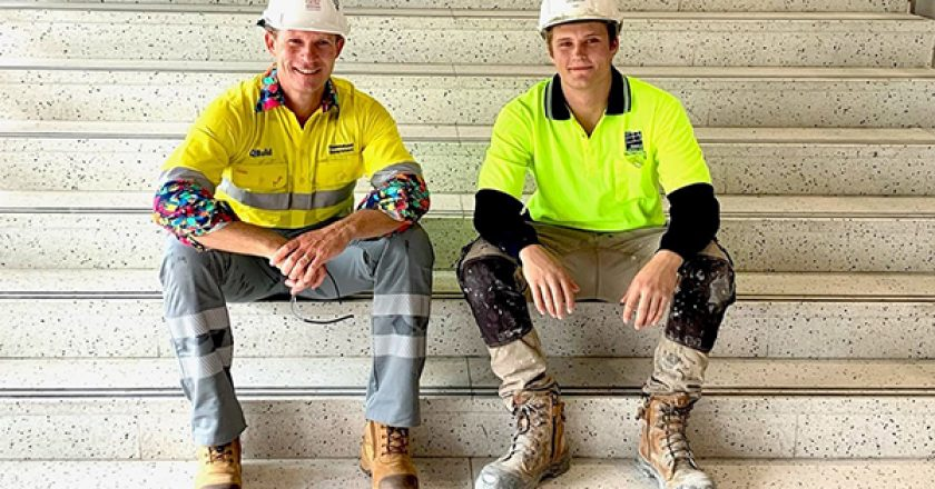 Around 600 workers have been inducted for the $176 million Cairns Convention Centre project, with one company doubling its workforce.