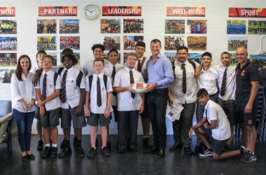 Coates Hire has launched its investment into the Clontarf Foundation with a visit to Clontarf's Endeavour Academy, part of Endeavour Sports High in Caringbah, New South Wales.