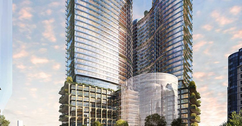 Frasers Property Australia and Dexus have lodged development plans with the City of Sydney for the $2.5 billion Central Place Sydney project.