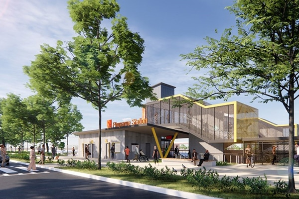 The Queensland Government has revealed the detailed designs for the new Pimpama train station, one of the three new Cross River Rail stations.